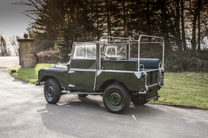 $148,000 paid for this Land Rover Series 1. (£79,990)
