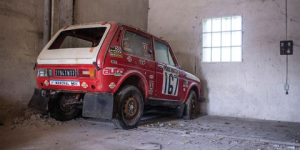 $136,000 for a Lada Niva ?. That is the estimate on this unique piece of history