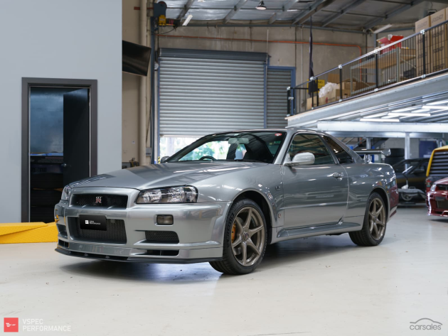 $600,000 for this great Nissan R34 Nur