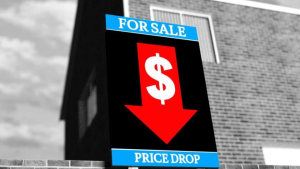 32% DOWN. The Commonwealth Bank (CBA) has predicted a 32% drop in Australian house prices.