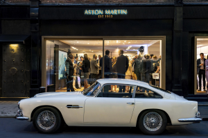 $21,455,000 for Aston Martin DP215 assists with AM decision to open Mayfair Classic Car Showroom