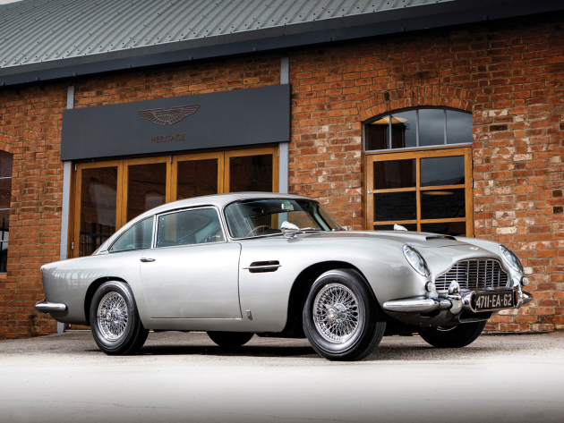 Up 427%, from $275,000 to $1.45 million for DB5.