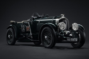 Bentley joins many other car maker's by rebuilding a legend. The 1929 Bentley 4.5 Litre Supercharged