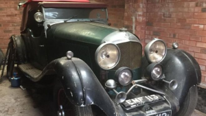 SOLD for $833,000 (£450,000). This rusty Bentley shows how strong the Classic Car Industry is.