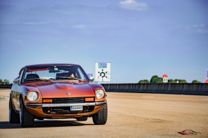 Even though this lovely car may not have the value of a 240Z, it is still everything to the owner