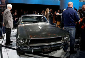 SOLD for AU$5,700,000. The Bulitt Mustang has now sold,and has set a new World Record for the model.