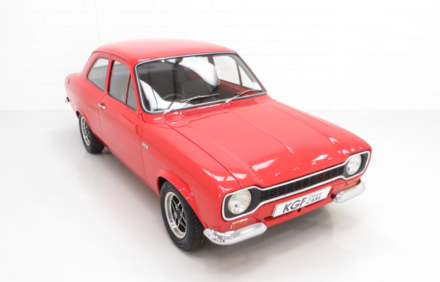$148,000 (£79,990) achieved for Ford Escort MkI RS1600 late in 2018
