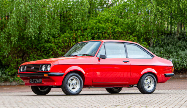SOLD for $100,000 ( £48,937 ). This Ford Escort RS2000 sale is a bellweather for the new boom.