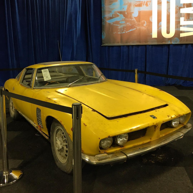 Iso Grifo Barn Find Sells For AU191000 GBP115000