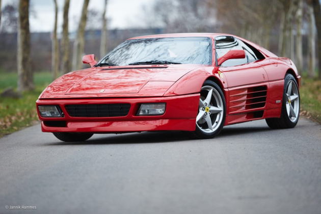 Jannik lives in a van, although his Ferrari 348 with a bike rack is his other car..........
