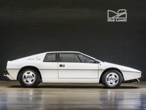 At $178,000 (£99990) Lotus Esprit's continue to rise unabated