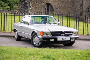 Up 160% over 3 years for Mercedes 450 SLC, as this classic is re-discovered.