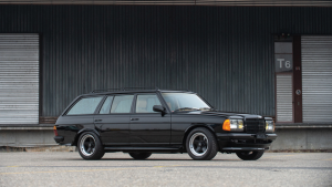 SOLD for $227,000. One Mercedes-Benz 500TE station wagon