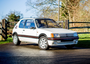 1500 % INCREASE in value for the Peugeot 205 Gti 1.9, which sold last weekend for $42,000 (£22,960)