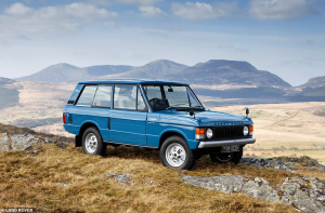 Range Rover voted the most iconic vehicle of all time